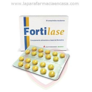 Fortilase, 20 Comprimidos