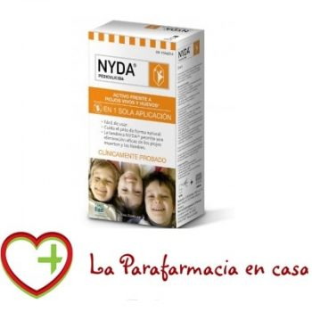 Nyda pediculicida contra piojos y liendres 50 ml Spray