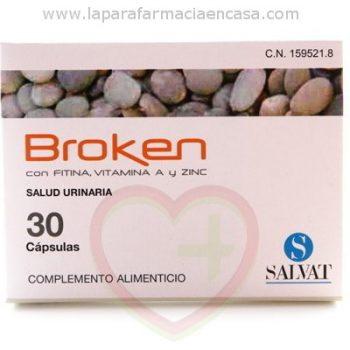 Broken Piedras en Riñon, 30 Cápsulas