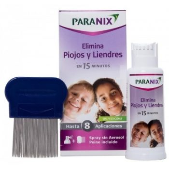 Paranix para piojos y liendres