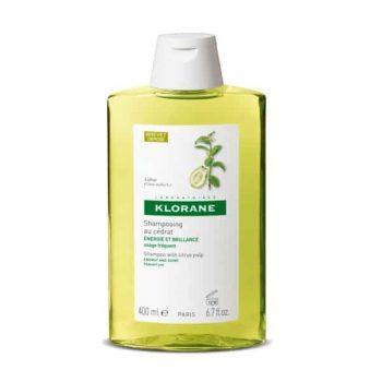 Champú a la pulpa de cidra de Klorane 400 ml