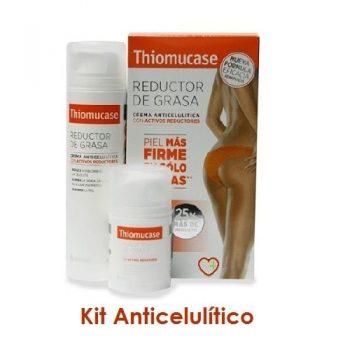 Thiomucase anticelulítica en kit de dos