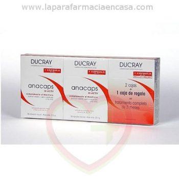 Anacaps triactiv pastillas anticaida 2+1 de Ducray