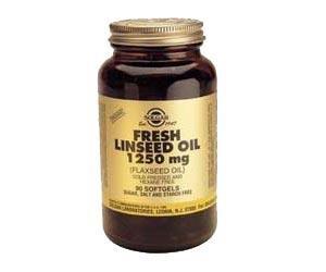 Aceite de linaza 1250 mg Solgar