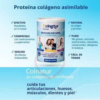 Colnatur Classic colágeno asimilable 300 gr