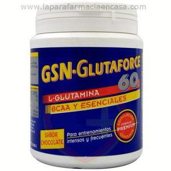 Glutaforce 60 Glutamina + BCAA + Esenciales, 240gr.