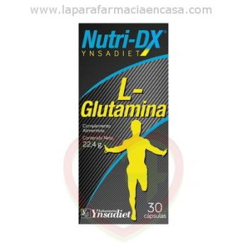 L Glutamina Nutri DX 500mg., 30 Capsulas