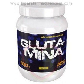 L-Glutamina polvo sabor limon 600gr.
