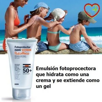 Protección solar infantil Isdin Pediatrics Gel Cream, 150 ml