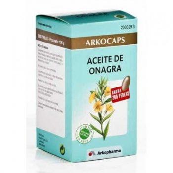 Arkocapsulas aceite de onagra. Arkocapsula de aceite de onagra 200 cápsulas arkopharma