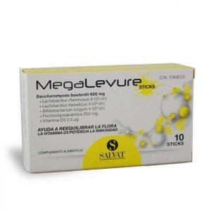 megalevure sticks probioticos