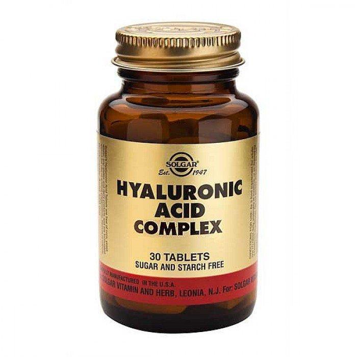Solgar Acido Hialuronico, 30 Comprimidos