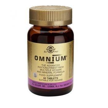 Omnium Solgar Fitonutrientes Multivitaminico
