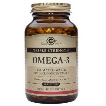 Solgar omega 3 triple concentracion 50 capsulas
