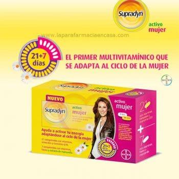 Supradyn activo mujer, 30 comprimidos multivitaminicos