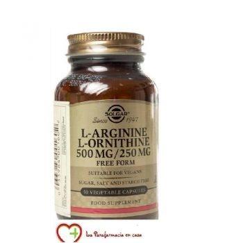 L-Arginina L-Ornitina Solgar