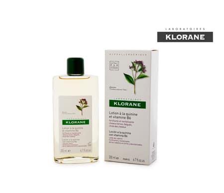 klorane loción quinina 200 ml anticaida