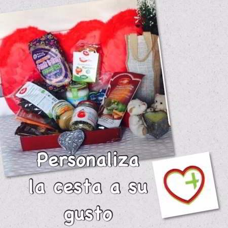 Cesta regalo saludable