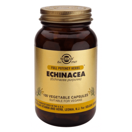 Solgar echinacea 100 capsulas la echinacea es estimulante del sistema inmune,son como vitaminas para las defensas