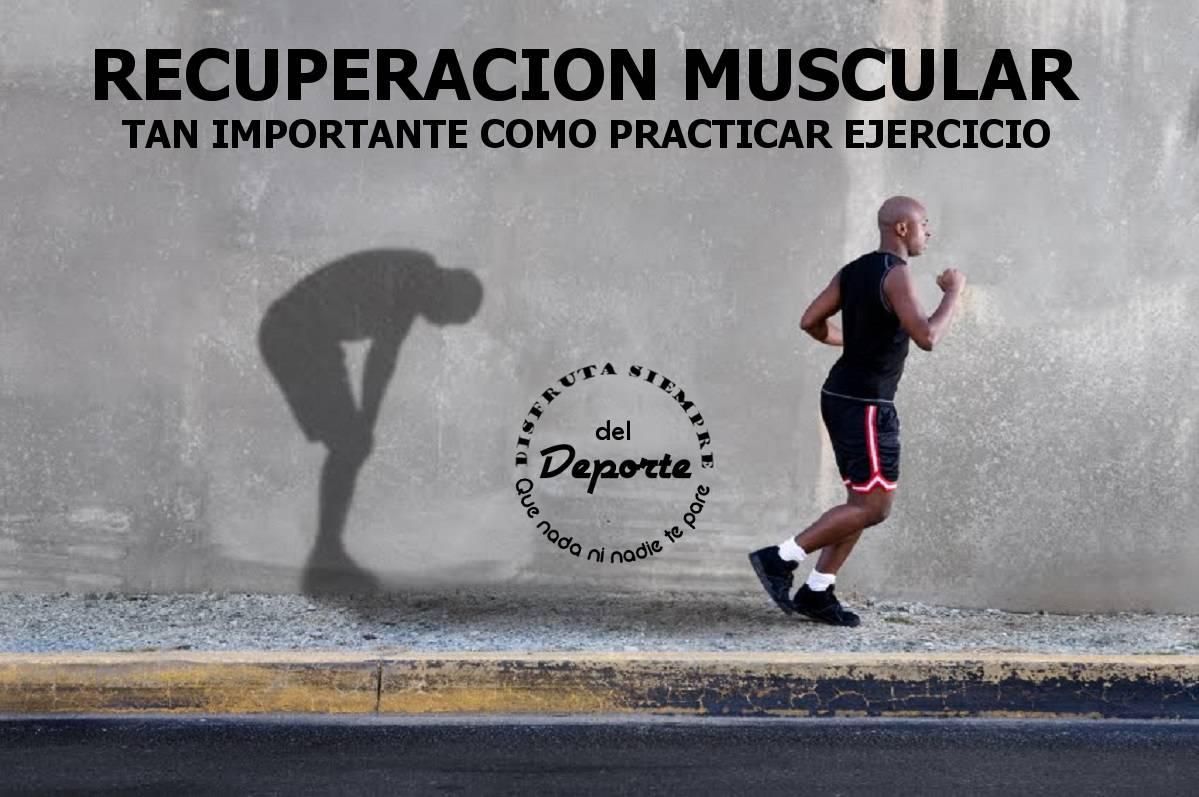 Recuperación muscular en la práctica deportiva
