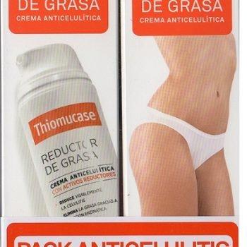 Thiomucase pack anticelulitis precio especial, thiomucase crema anticelulitica duplo grande 200 ml