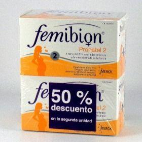 femibion pronatal 2 duplo 50% a la mitad de precio merck