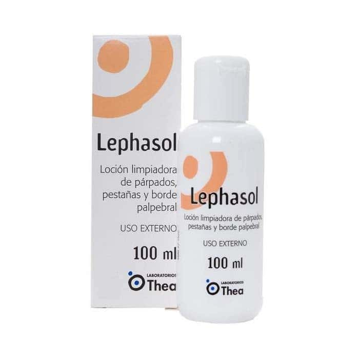 lephasol loción limpiadora 100 ml laboratorios thea