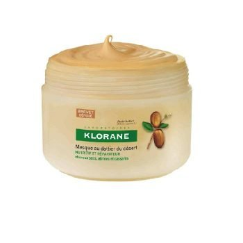 mascarilla para el pelo nutritiva y reparadora al dátil del desierto de klorane 150 ml