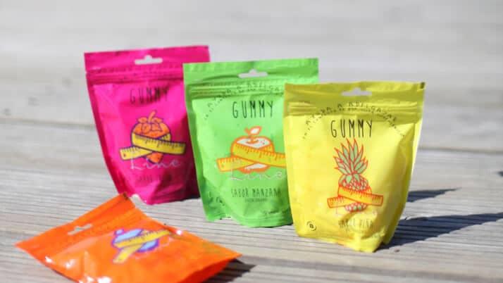 Gummy Line con Glucomanano