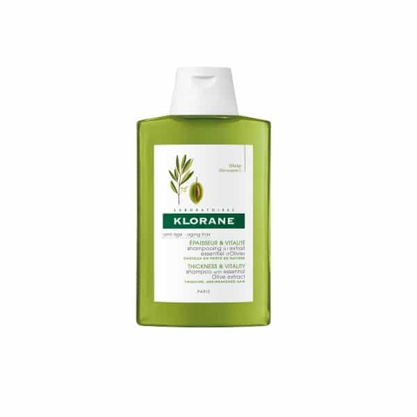 Champú al extracto esencial de Olivo Klorane
