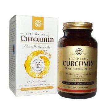 Curcuma Full Spectrum Solgar 60 comprimidos