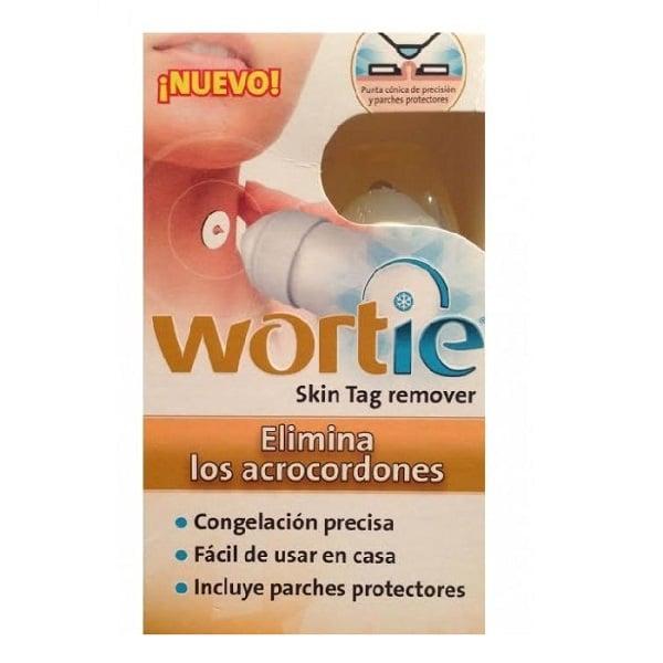 wortie antiverrugas permite quitar verrugas desde casa 50 ml por congelacion