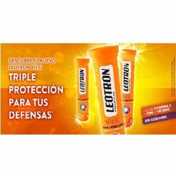 Vitamina C Efervescente Leotron