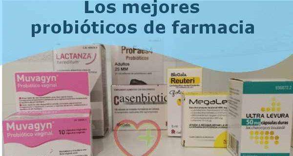 probióticos de farmacia