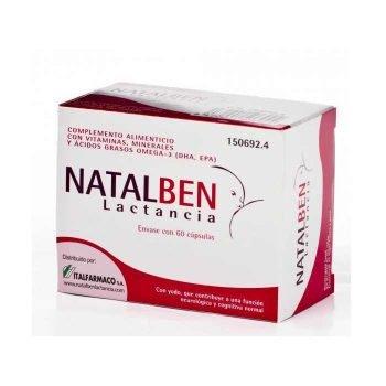 Natalben lactancia 60 cápsulas Italfarco