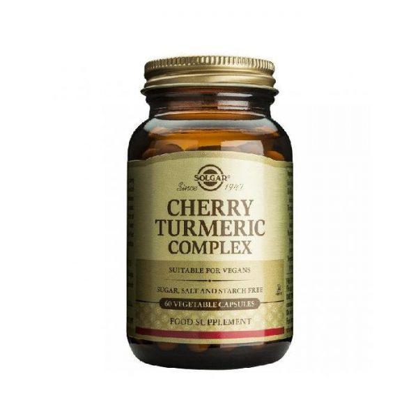 Solgar cereza curcuma en comprimidos