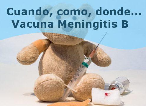 vacuna meningitis b, todo lo que necesitas saber