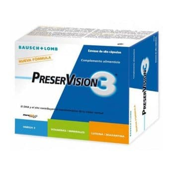 Preservision 3 180 Capsulas Bausch&Lomb