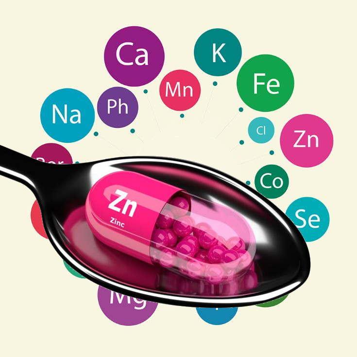 Necesidades de zinc en hombres y mujeres