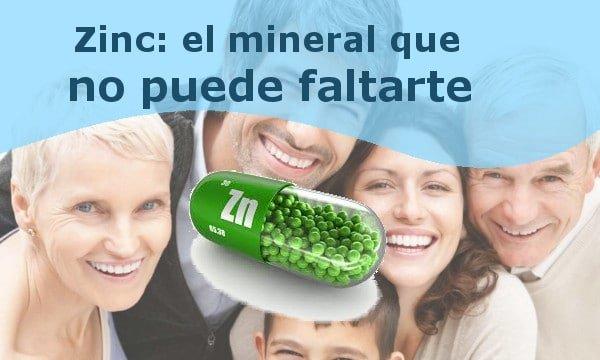 Falta de zinc, riesgos para la salud