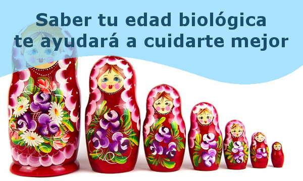 Test para conocer tu edad biologica