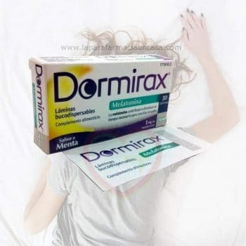 Comprar Dormirax Forte 30 láminas