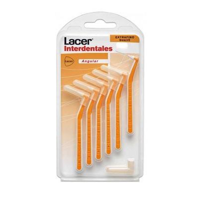 Cepillo Lacer Interdental Extrafino Suave. Cepillo interdental lacer extrafino suave naranja