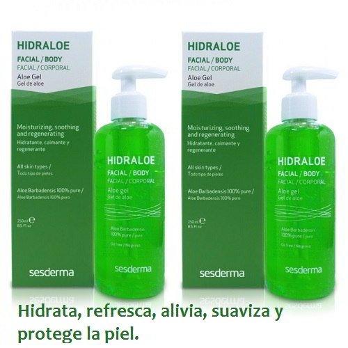 Sesderma Hidraloe Gel de Aloe, Duplo 250 ml