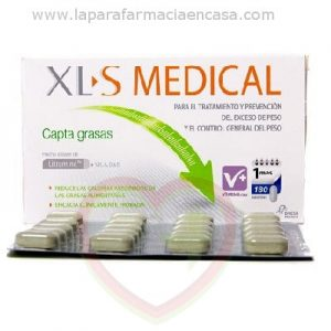 Comprar XLS Medical Captagrasas 180 comprimidos