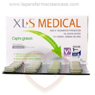 Comprar XLS Medical Captagrasas 180 comprimidos