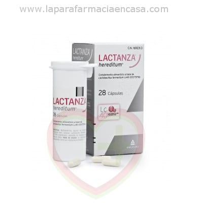 Lactanza Hereditum 28 cápsulas