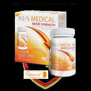 Bote de XLS Medical Max Strength, 120 Comprimidos