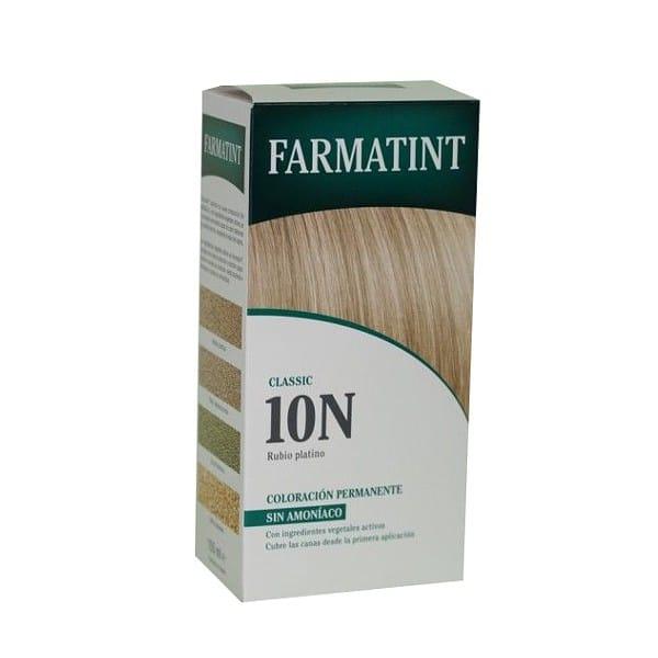 Farmatint 10 n rubio platino la parafarmacia en casa - Rubio platino en casa ...