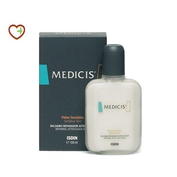 Isdin Medicis Bálsamo Reparador After Shave Pieles Sensibles, 100 ml.